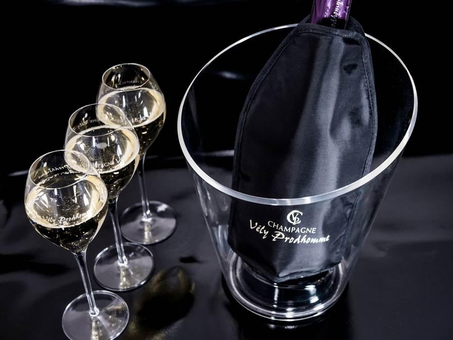 Seau et rafraîchisseur champagne Vély-Prodhomme